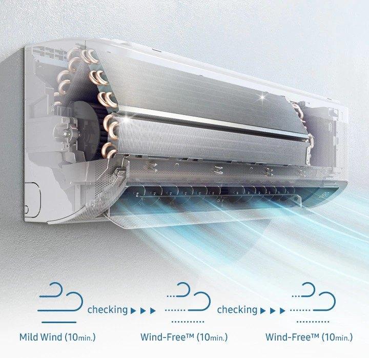 klimatyzator Samsung Wind-Free AVANT