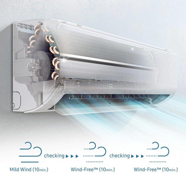 Samsung Wind-Free COMFORT klimatyzacja