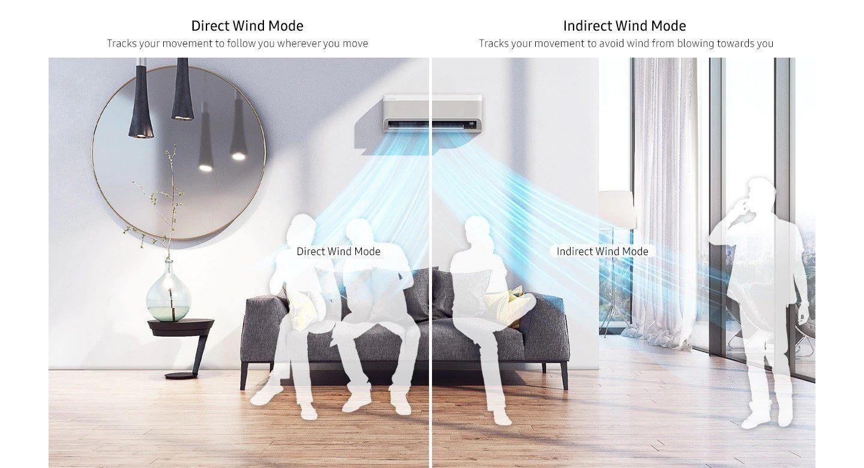 Samsung Wind-Free ELITE klimatyzator do mieszkania