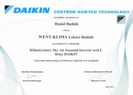 Daikin Sky Air Seasonal Inverter
