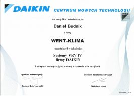Daikin system klimatyzacji VRV IV