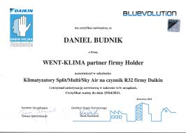 Klimatyzacja Daikin Split / Multi / Sky Air