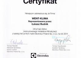 Klimatyzacja Electrolux