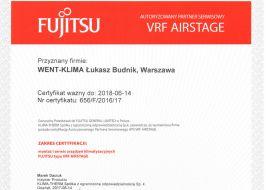 Montaż systemu klimatyzacji VRF Fujitsu