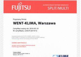 Fujitsu systemy klimatyzacji Split i Multi
