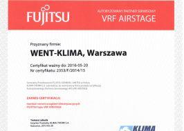 Fujitsu VRF systemy klimatyzacji
