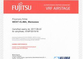 Klimatyzatory Fujitsu VRF Airstage