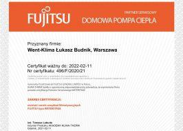 Fujitsu Domowa Pompa Ciepła Waterstage