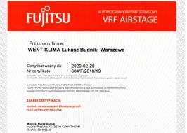 Klimatyzacja Fujitsu VRF