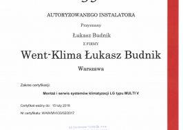 System klimatyzacji Multi V firmy Lg