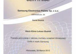 Klimatyzacja Samsung DVM+4