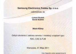 Klimatyzacja Samsung RAC, CAC, FJM
