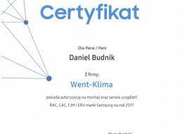 Klimatyzatory Samsung RAC, CAC, FJM, ERV