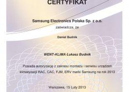 Systemy klimatyzacji Samsung