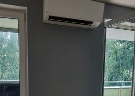 Montaż systemu klimatyzacji Daikin Sensira+