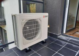 Montaż klimatyzatora Mitsubishi MSZ-AP