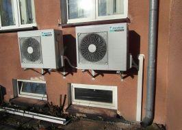 klimatyzator w serwerowni
