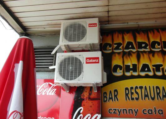 klimatyzacja w restauracji warszawa