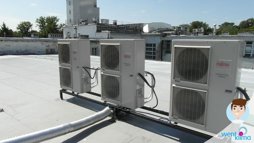 klimatyzatory serwerownia
